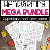 Alphabet Handwriting Practice MEGA Bundle   Uppercase & Lowercase