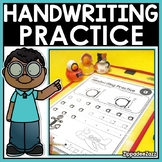 Alphabet Handwriting Practice Pages with Letter Formation