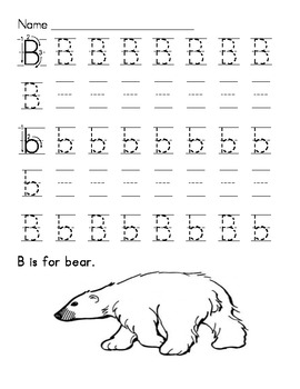 Alphabet Handwriting Practice Set
