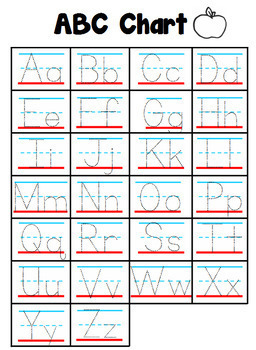 Alphabet Handwriting Practice Set