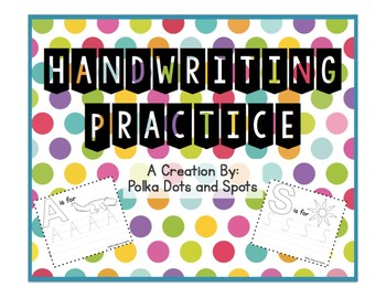 Alphabet Handwriting Practice (Uppercase)