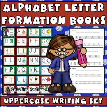Alphabet Handwriting Practice: Uppercase Letter Formation with Songs and Rhymes