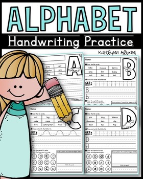 Alphabet Handwriting Practice and Letter Recognition