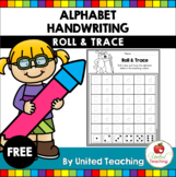 Alphabet Handwriting Roll and Trace FREE