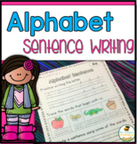 Alphabet Handwriting & Sentence Practice