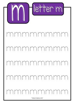 Alphabet Handwriting Sheets (lower and uppercase)