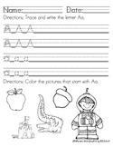 Alphabet Handwriting & Sound Packet (Common Core)