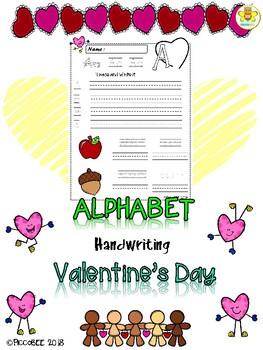 Alphabet Handwriting {Valentine's Day}