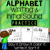 Alphabet Handwriting and Initial Sound Practice