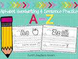 Alphabet Handwriting and Sentence Practice