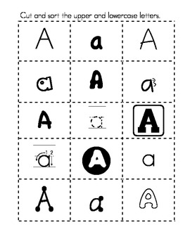 Alphabet and Handwriting Pack #2