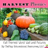 Harvest Word Wall Literacy