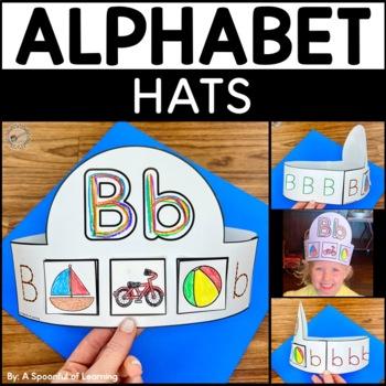 Alphabet Hats A-Z with Beginning Sound Match
