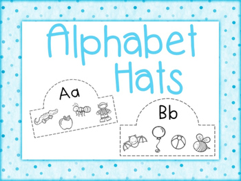 Alphabet Hats Aa to Zz
