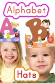 Alphabet Hats! All 26 Letters. Only $1. Easy to cut out. Fun and colorful!