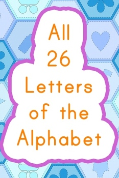 Alphabet Hats All 26 Letters Only 1 Easy To Cut Out