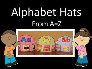 Alphabet Hats From A-Z