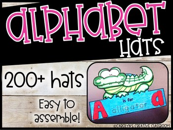 Alphabet Hats - Simple and Easy!