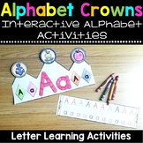 Alphabet Hats and Crowns