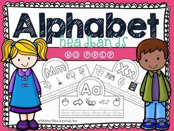 Alphabet Headbands