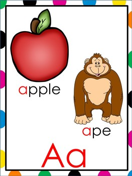 Alphabet Headers for the Early Childhood Classroom