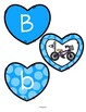 Alphabet Hearts - Matching Upper Case, Lower Case and Beginning Sounds