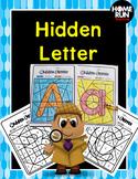 Alphabet Hidden Letter