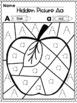 Benchmark Advance Alphabet Hidden Pictures by Kinder League