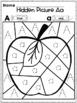 Wonders Alphabet Hidden Pictures by Kinder League