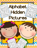 Alphabet Hidden Pictures by Kinder League