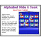 Alphabet Hide & Seek Pocket Chart Cards | Painting Theme