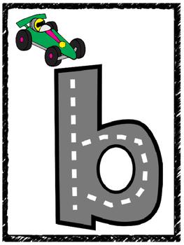 Alphabet Highway Letters