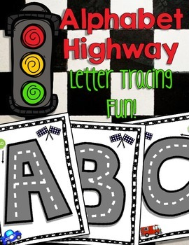 Alphabet Highway...Race to Trace!