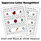 Alphabet Hole Punch Strips: Letter Recognition Activity