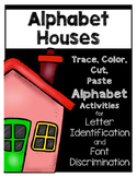 Alphabet Houses Letter Sort--No Prep, Just Print and Go!