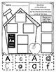Alphabet Houses Letter Sort--Print and Go!