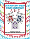 Alphabet Hundred Chart Hidden Picture Activities for Math and Reading