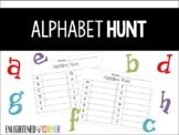 Alphabet Hunt - Literacy Activity for K/1