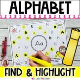 Alphabet Hunt! Alphabet Recognition Activity for All 26 Letters