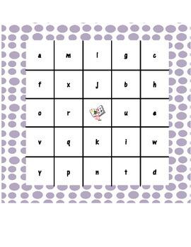 Alphabet Hunt & Bingo Activities