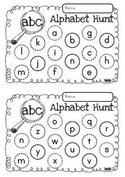 Alphabet Hunt FREEBIE