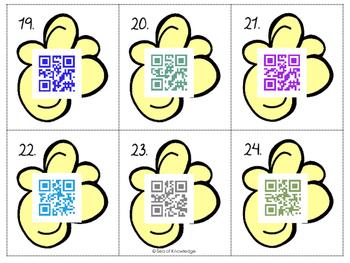 Alphabet Hunt QR Code Find, Scan & Write