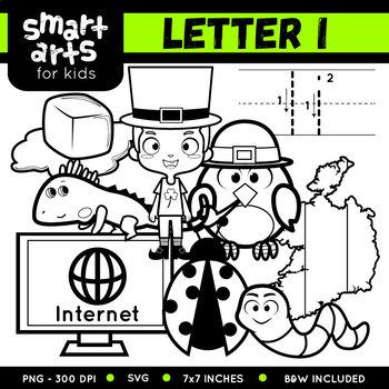Alphabet I Clip Art