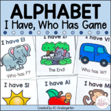 Alphabet I Have Who Has Card Game
