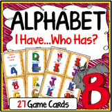 Alphabet Speaking & Listening I Have, Who Has Game