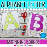 Alphabet! I Know My Alphabet Sounds (Beginning Letter Sounds Activity)