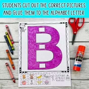 Alphabet! I Know My Alphabet Sounds (Beginning Letter Sounds Activity)