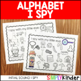I Spy Alphabet Activities