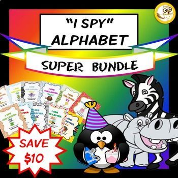 Alphabet Activities Bundle (Letters A-Z: Games, Posters & Worksheets)