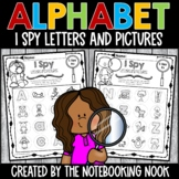 Alphabet I Spy Letters and Pictures